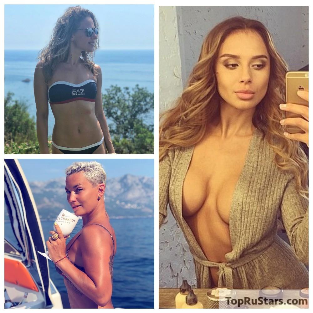 голые жёны русских поп звёзд
