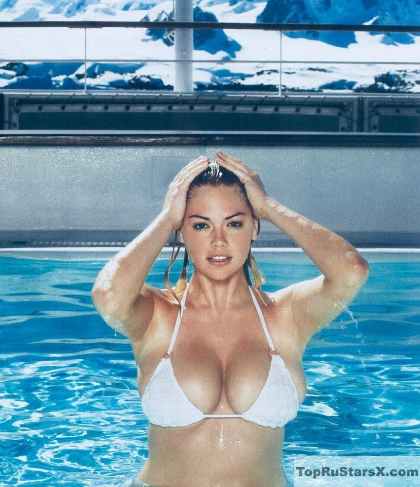 грудь модели